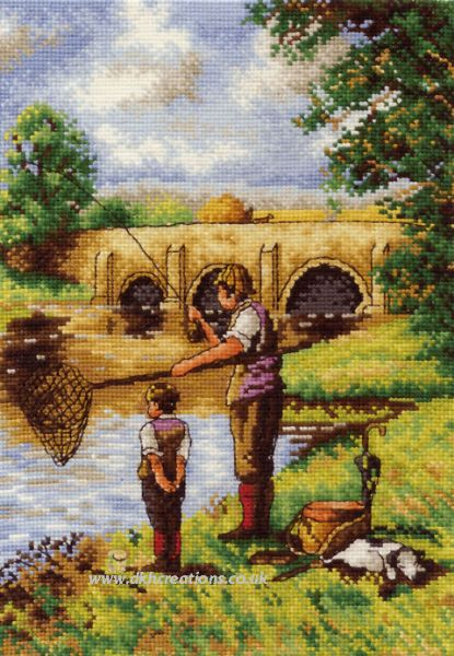 That's The Way To Do It Son Cross Stitch Kit